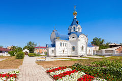 Odigitrievsky Cathedral in Ulan Ude Stock Photography