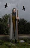 Odin το Allfather Στοκ Φωτογραφία
