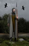 Odin Allfatheren Arkivbild