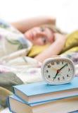 Odio los relojes de alarma Imagen de archivo