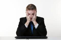 Odio lunedì Immagine Stock