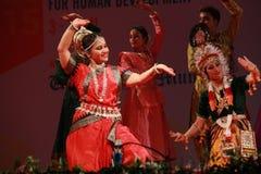 Odissi dansare Royaltyfri Fotografi