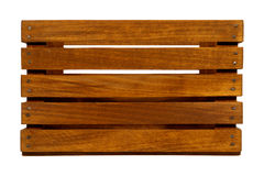 - odizolowane przypadki drewna Obraz Stock