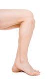 Odizolowywać mężczyzna nogi Obraz Royalty Free