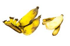 Odizolowywa banan Fotografia Stock