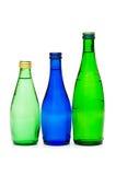 Odizolowywać butelki woda Fotografia Royalty Free