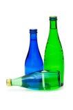 Odizolowywać butelki woda Zdjęcie Stock
