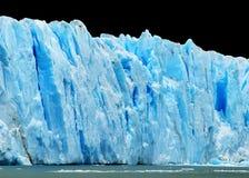 odizolowywać czarny góra lodowa zdjęcie royalty free