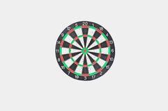 Odizolowywa dartboard Obraz Royalty Free