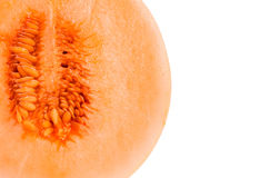 Przyrodni kantalupa melon Fotografia Stock