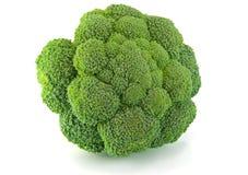 odizolowywająca świeża brokuł zieleń zdjęcia royalty free