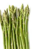 odizolowywająca asparagus zieleń Zdjęcia Stock