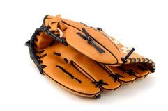 odizolowywająca baseball rękawiczka fotografia royalty free