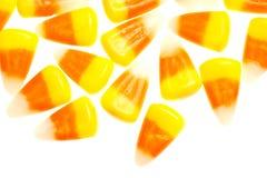 Odizolowywająca na biel cukierek kukurudza Obrazy Stock