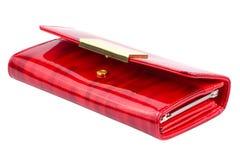 Odizolowywająca nowożytna czerwona kiesa Obrazy Royalty Free