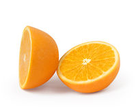 Odizolowywająca pomarańcze owoc Obraz Royalty Free