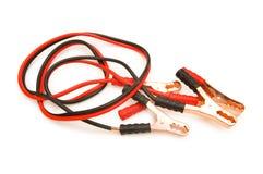 odizolowywający bateryjni kable zdjęcie royalty free