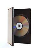 odizolowywający duży pudełkowaty dvd Obrazy Stock