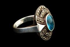 Odizolowywający Jewellery pierścionek Zdjęcia Royalty Free