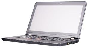 Odizolowywający laptopu widok Zdjęcia Royalty Free