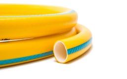 odizolowywający ogrodowy wąż elastyczny Zdjęcia Stock
