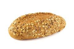 odizolowywający otręby chleb obraz stock