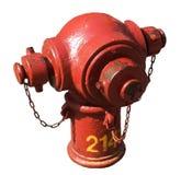 odizolowywający pożarniczy hydrant Zdjęcia Stock
