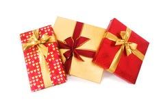 Odizolowywający prezenta pudełko obrazy royalty free