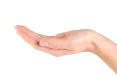 odizolowywający ręki pomaganie obraz stock