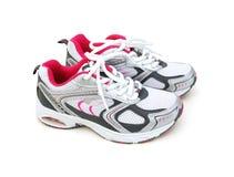 Odizolowywający sportów buty obrazy stock