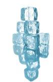 odizolowywający sześcianu lód Zdjęcie Royalty Free