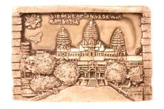 odizolowywający sztuki cambodian fotografia stock