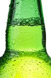 odizolowywająca abstrakcjonistyczna piwna butelka Obraz Stock