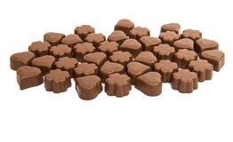 odizolowywająca cukierek czekolada Obrazy Stock
