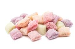odizolowywająca cukierek owoc Zdjęcie Stock
