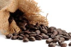 odizolowywająca fasoli kawa Zdjęcia Royalty Free