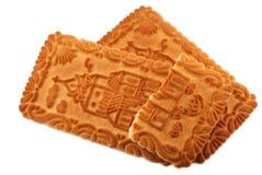 odizolowywający ciastko kasztel Obraz Stock