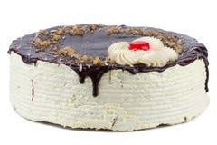 Odizolowywający czekolada tort Zdjęcie Royalty Free