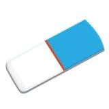 Odizolowywający gumka - wektorowa ilustracja Ilustracja Wektor
