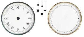 odizolowywający klasyka zegar Obrazy Royalty Free