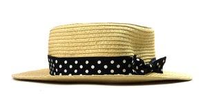 odizolowywający moda kapelusz Fotografia Stock