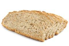 Odizolowywający pokrojony chleb Obrazy Royalty Free