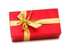 odizolowywający pudełkowaty prezent obrazy stock