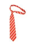 Odizolowywający szyja krawat Zdjęcia Royalty Free