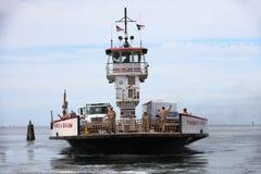 Odjeżdżania Ferryboat Obraz Royalty Free