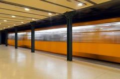 Odjeżdżanie tramwaj Obraz Stock