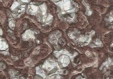 odkryłem w środku kopalni diamentów kamienie Fotografia Royalty Free