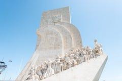 Odkrycie Pomnikowi w Lisbon, Portugalia Obraz Royalty Free