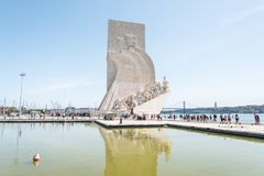 Odkrycie Pomnikowi w Lisbon, Portugalia Zdjęcie Royalty Free