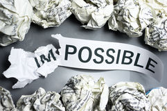 Odkrywać możliwość. Fotografia Royalty Free